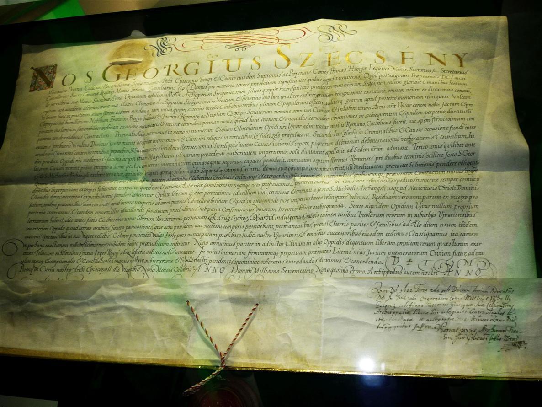 9989eeb569c94 Arcibiskup Széchenyi povýšil Nové Zámky z hradu na mesto: Nové Zámky